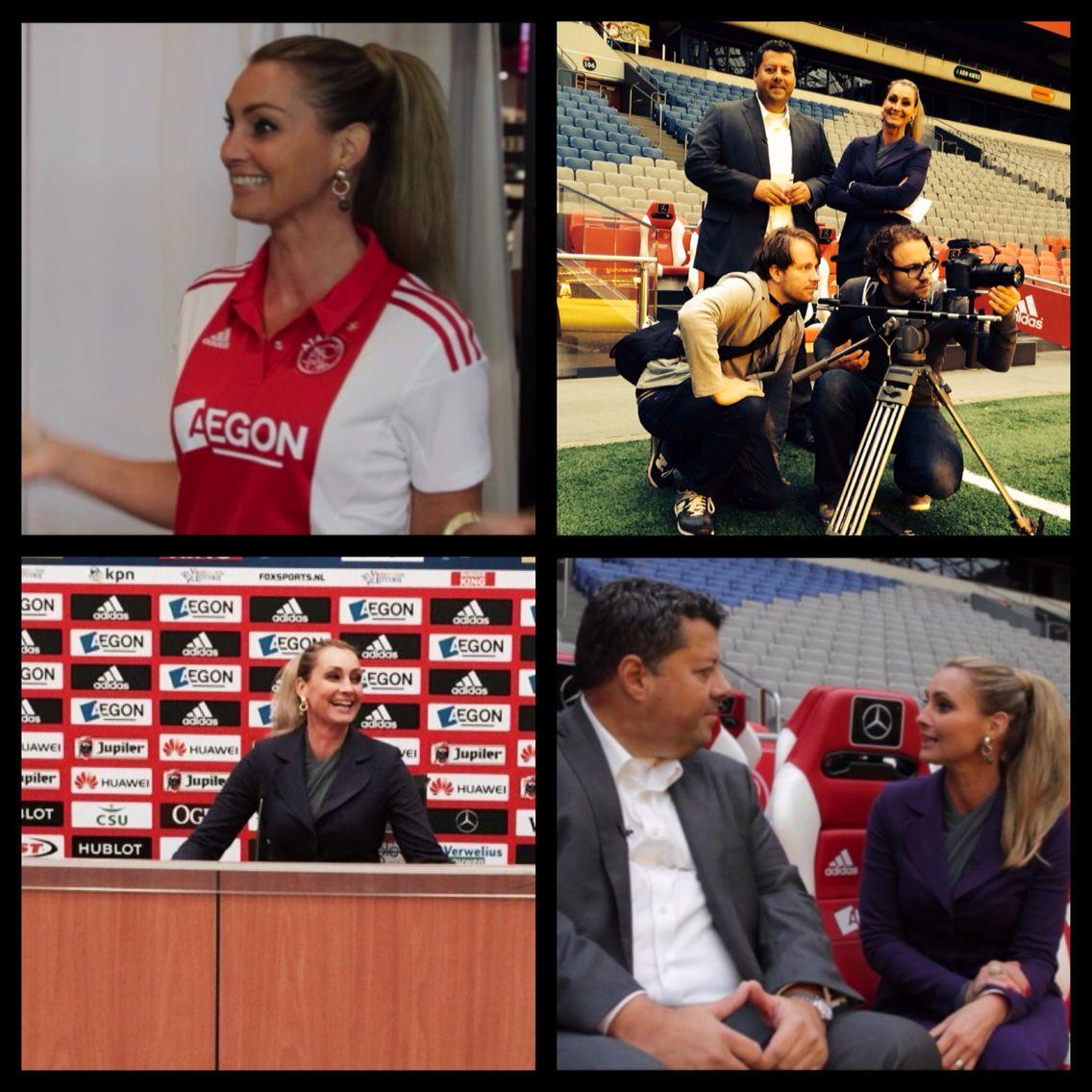 Opname LXRYTV Finance Rtl4 bij Ajax Arena Amsterdam (met
