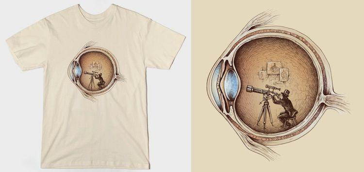 Extraordinary Observer Anatomy T-Shirts