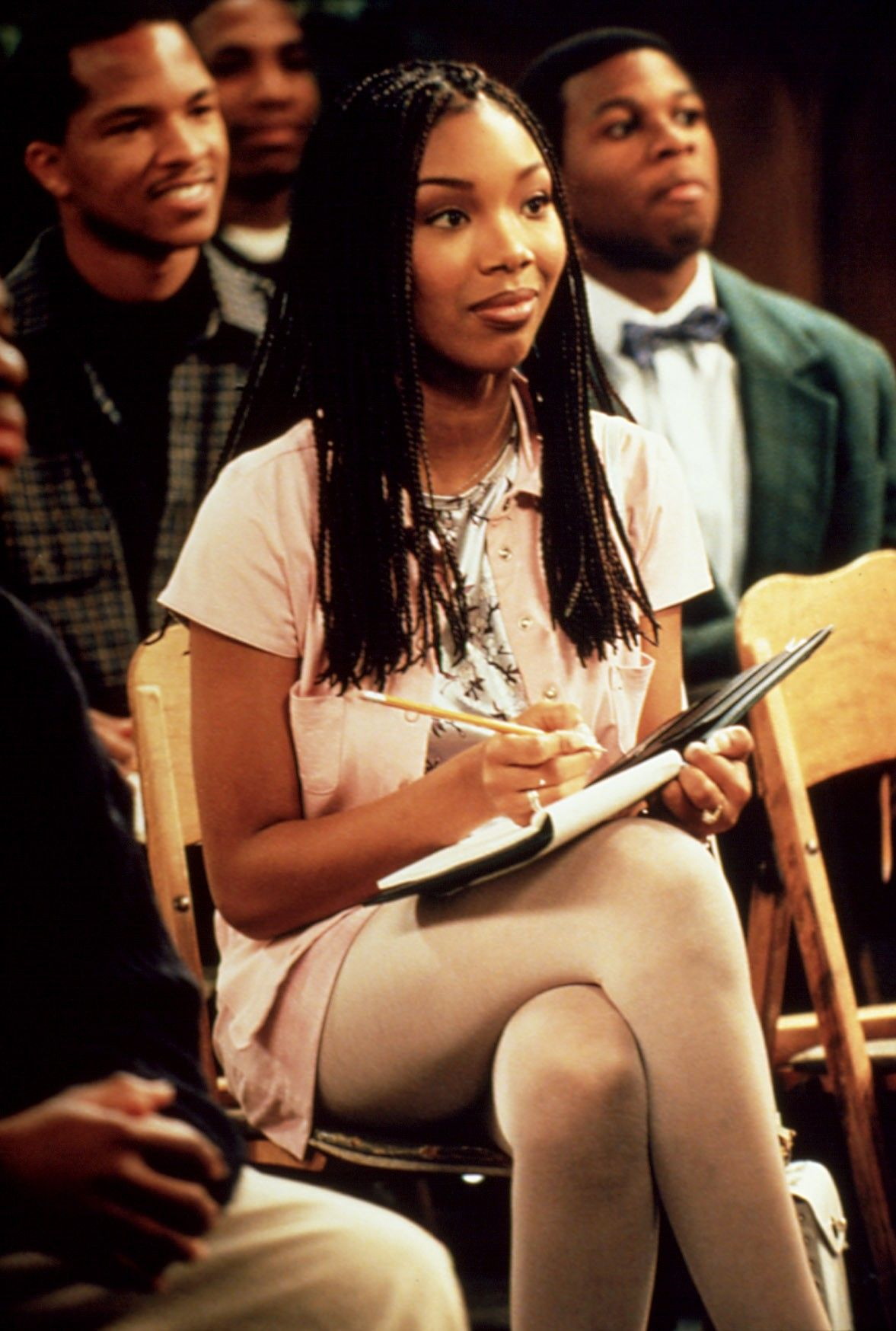 Long Before Brandy Norwood Released An Album Or Appeared As Cinderella She Starred On The 90s Show Moesha Brandy Braids Brandy Norwood Tv Characters