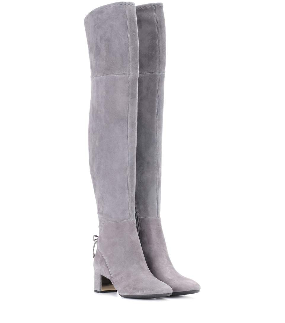 87b304a38ef9cb TORY BURCH Laila 45 suede over-the-knee boots.  toryburch  shoes ...