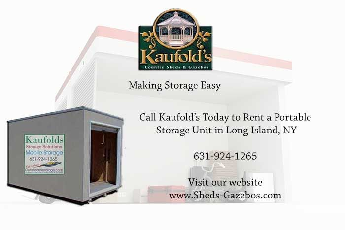 Kaufolds offers Portable Storage Units in Long Island NY. Rent your portable storage unit  sc 1 st  Pinterest & Kaufolds offers Portable Storage Units in Long Island NY. Rent your ...
