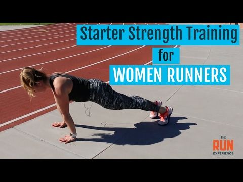 starter strength training for women runners  youtube