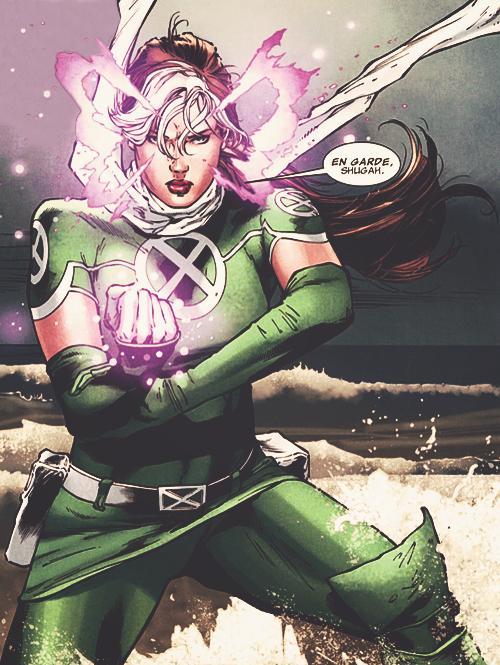 En Garde Shugah Marvel Rogue Female Comic Characters Superhero Comic