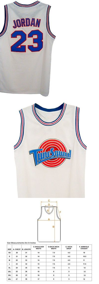 77114bfff4f85a Other Basketball Clothing 158974  Michael Jordan Tune Squad Youth  Basketball Jersey White Space Jam 23