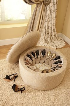 Increible idea para que tus zapatos estén siempre organizados #guardarzapatos #mueblezapatero