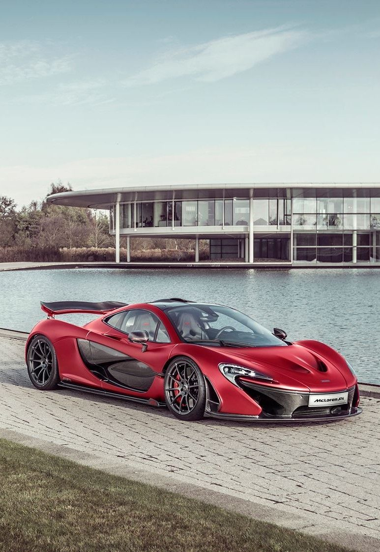 Custom MSO McLaren P1 in Satin Volcano Red Looks Exceptional | Carscoops