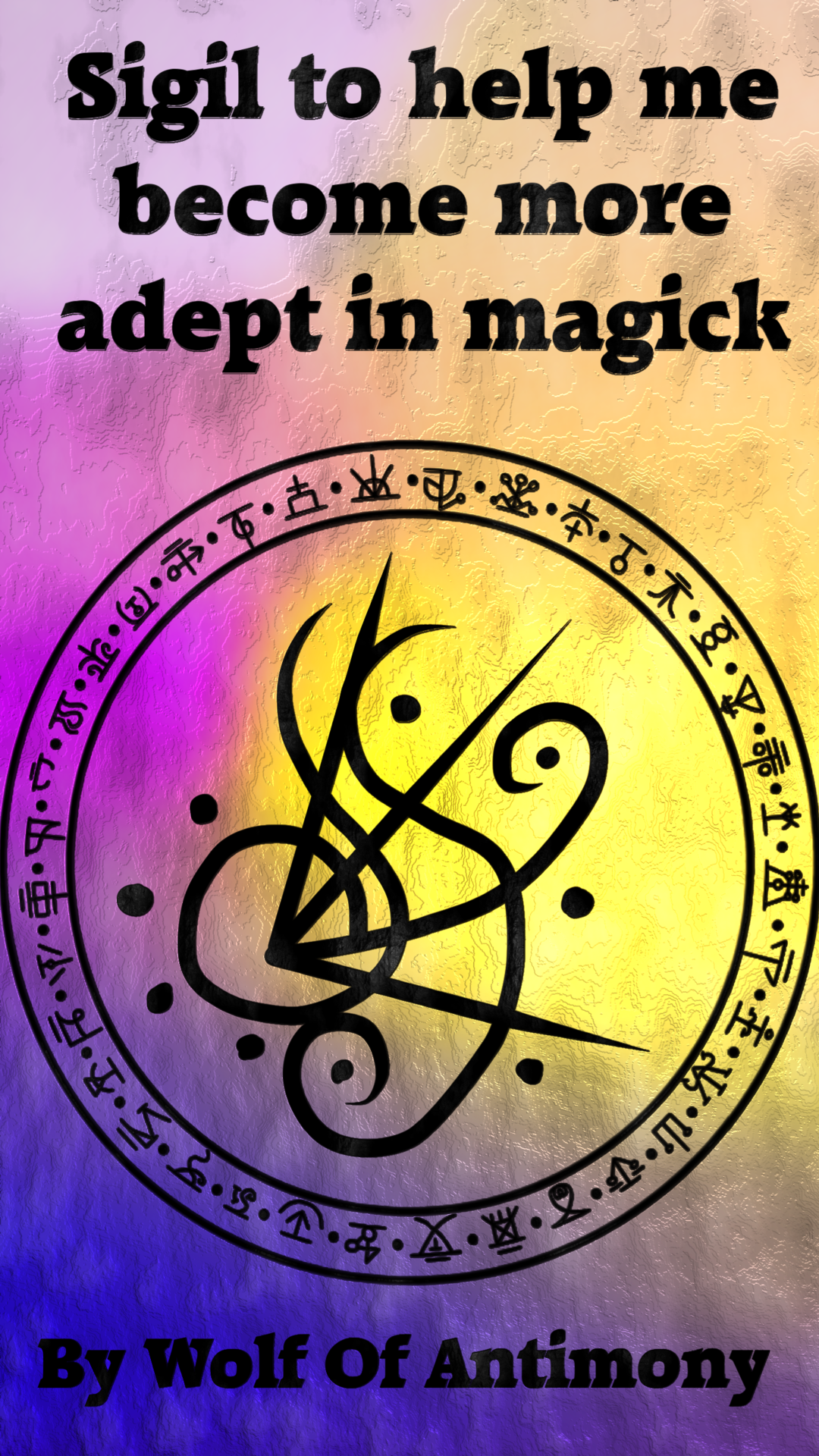 Sigil to help me become more adept in magick Requested by