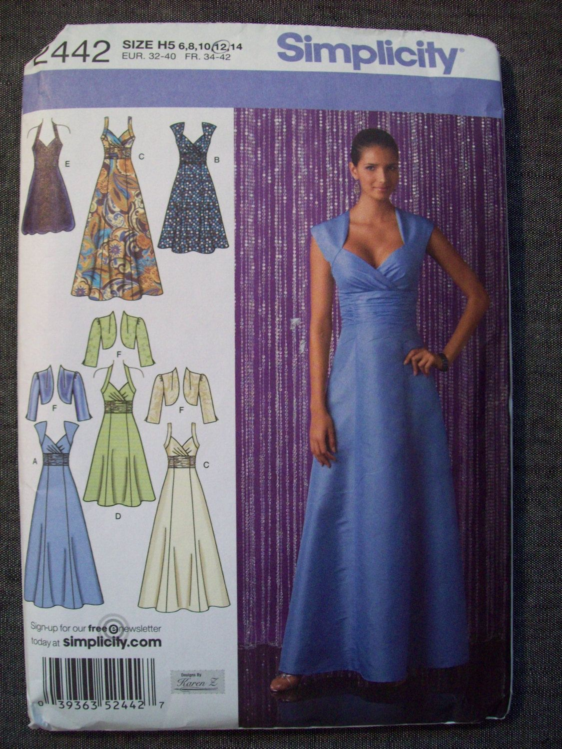 Special+occasion+dress.+Simplicity+2442.+Sizes+by+DeBeesSupplyHive ...