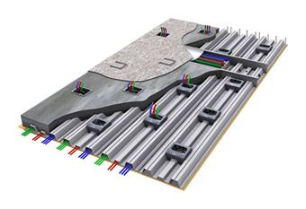 Underfloor Raceways For Electrical Systems
