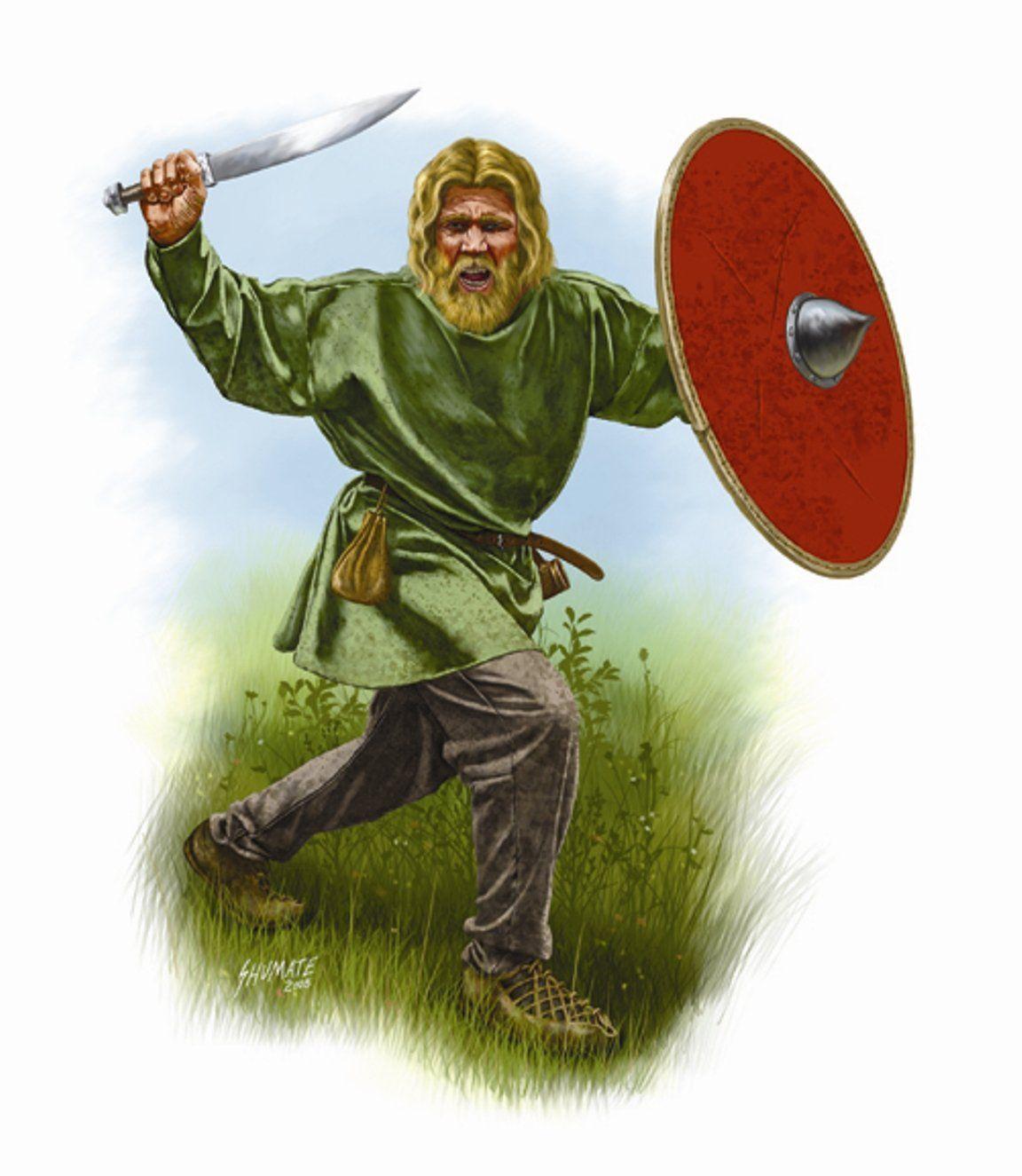 Saxon Warrior by Johnny Shumate