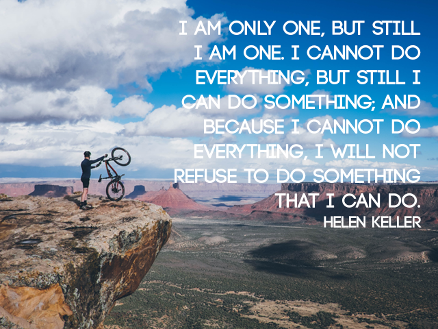Inspirational Quotes For People With Depression: Don't Refuse To Do Something! #peersupport #depression