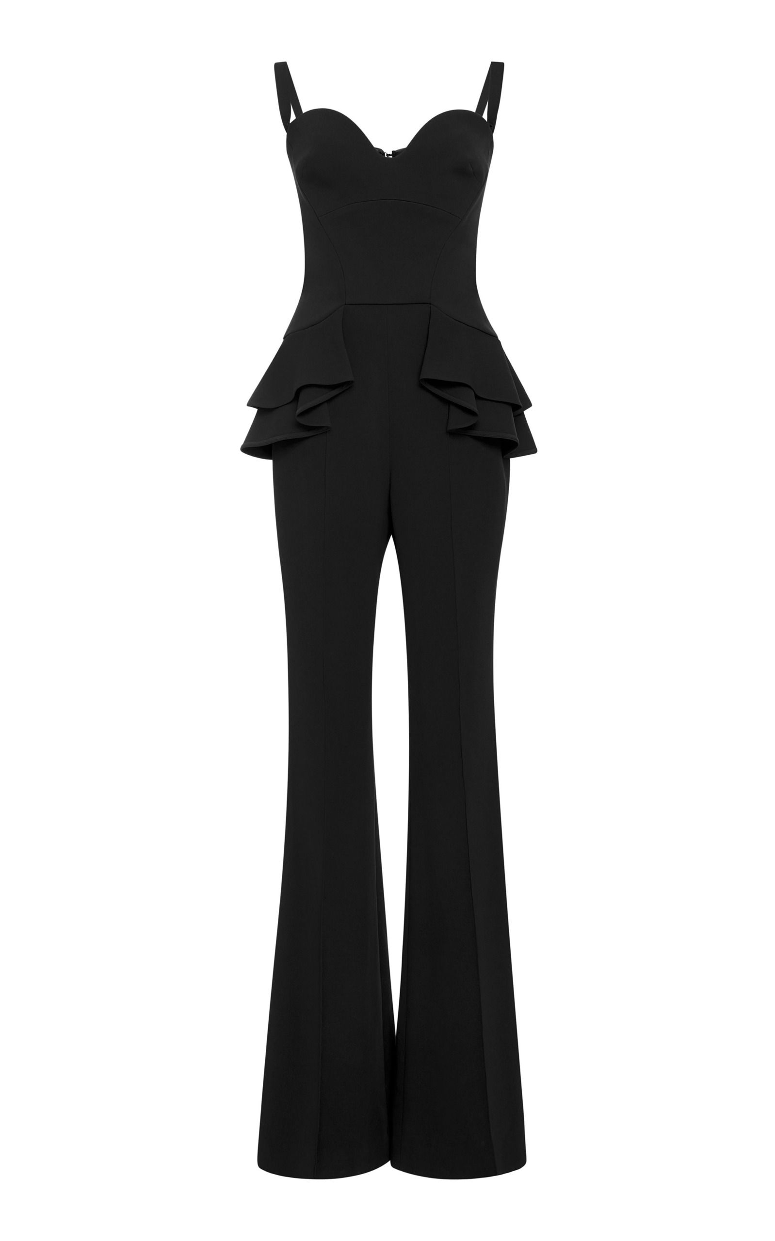 3e20107c627f Elie Saab Resort 2018 Collection Photos (Peplum Jumpsuit - Black ...