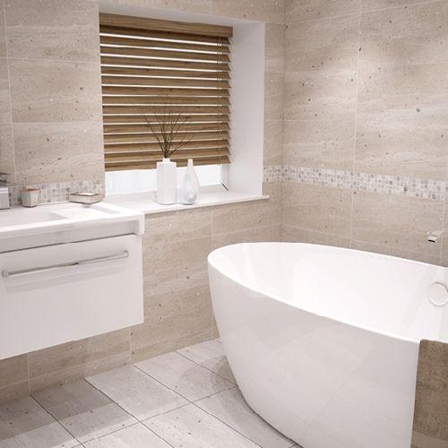 Conglomerates Warm Sands Matt Tile 600x300mm Wall Tiles
