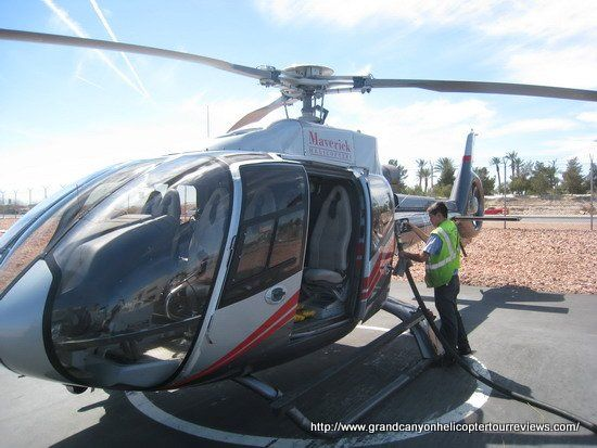 """My wife and I are celebrating our 50th and want to take a helicopter tour to Grand Canyon. Who should we fly with?"