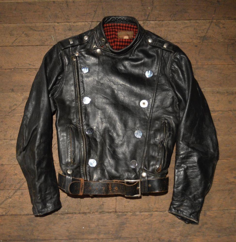 Vintage Extremely Rare 1950s Buco J 31 Horsehide Leather Motorcycle Jacket Leather Motorcycle Jacket Vintage Clothing Men Jackets Men Fashion [ 1000 x 975 Pixel ]