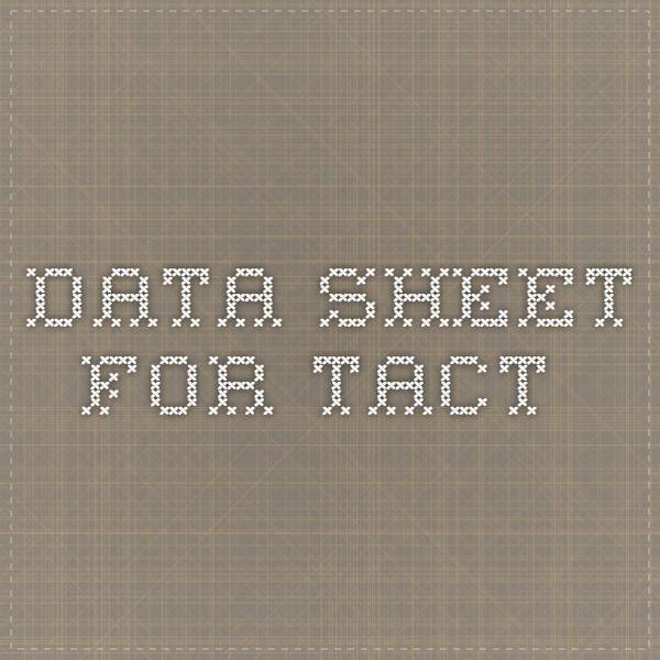 Data Sheet For Tact Data Sheets Verbal Behavior Behavior Analysis