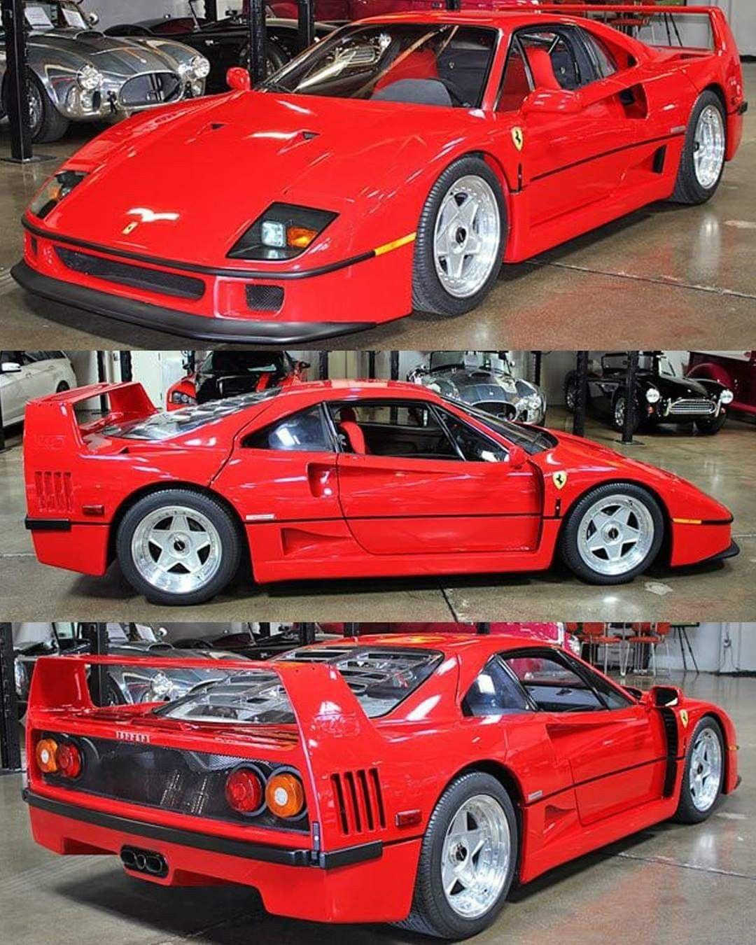 90 Ferrari F40 Dream Car Garage Cool Cars Super Cars