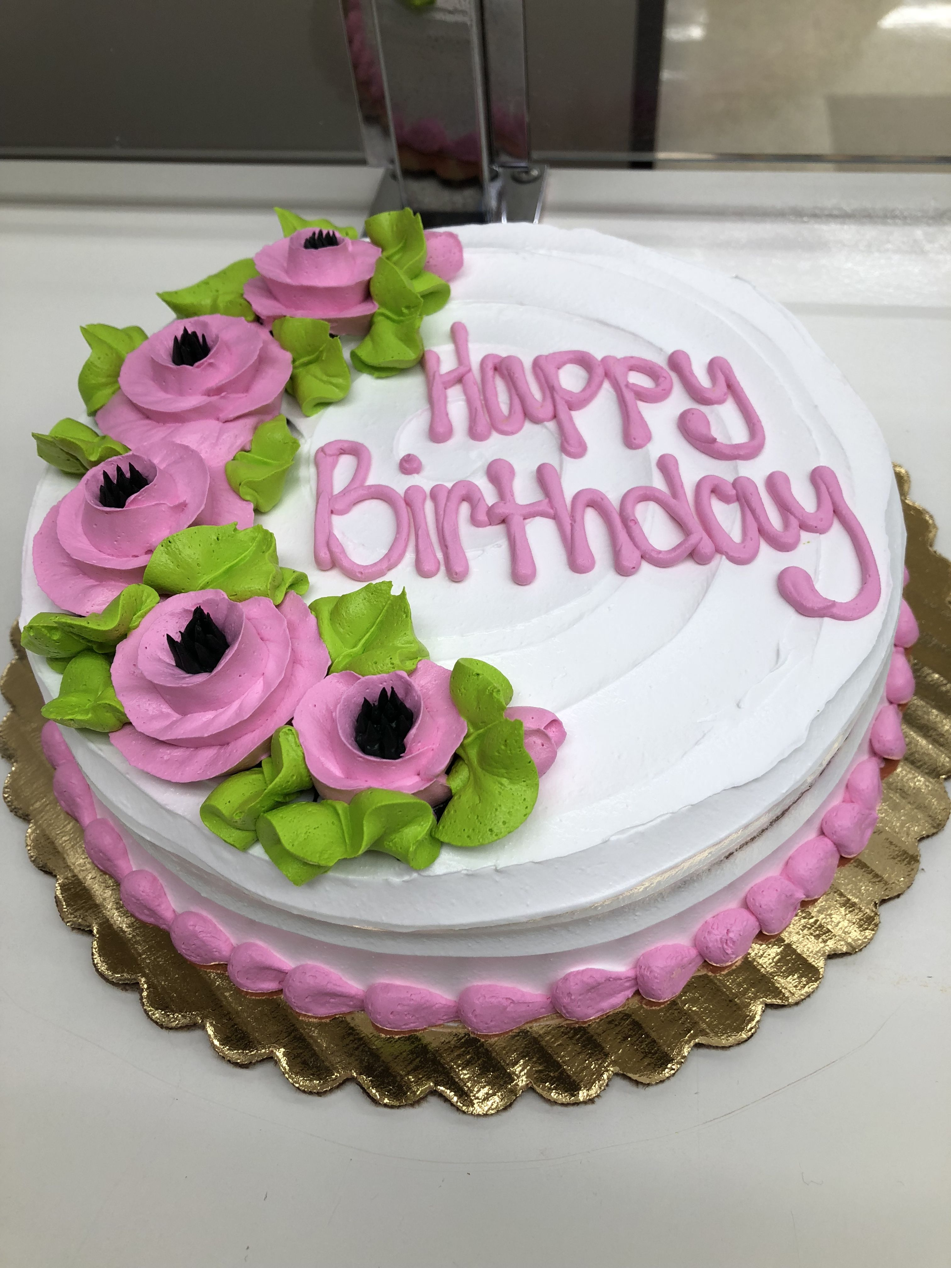 Pink flowers birthday cake kkscakes my cakes in 2018 pinterest pink flowers birthday cake kkscakes izmirmasajfo