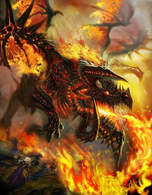 FireFire Flames Dragon