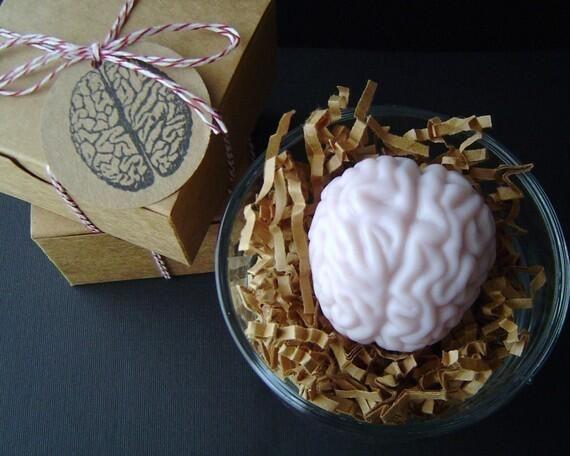 Jabón perfumado de cerebro