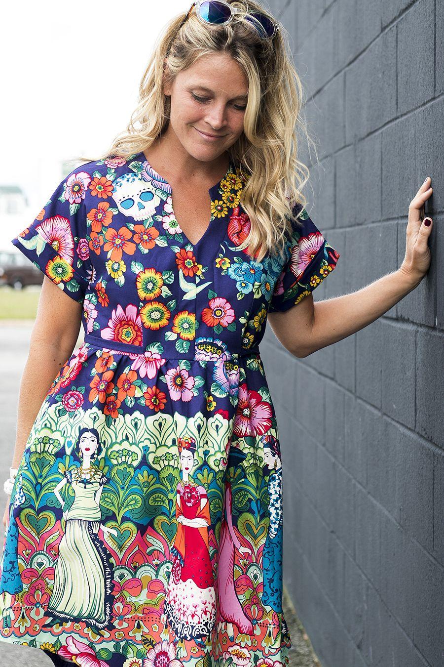 Frida Fringe Dress | Pinterest | Fringe dress, Dress sewing patterns ...