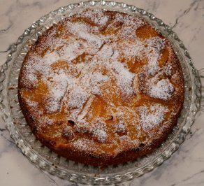 Pfirsich-Eierlikör-Kuchen - Rezept