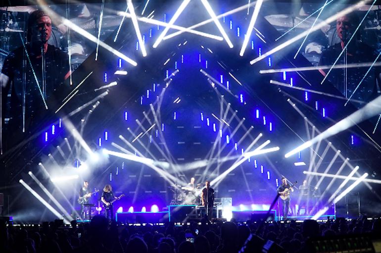 Production Branding For Onerepublic Honda Civic 2017 Tour Live Design Stage Lighting Design Stage Design Concert Stage Design