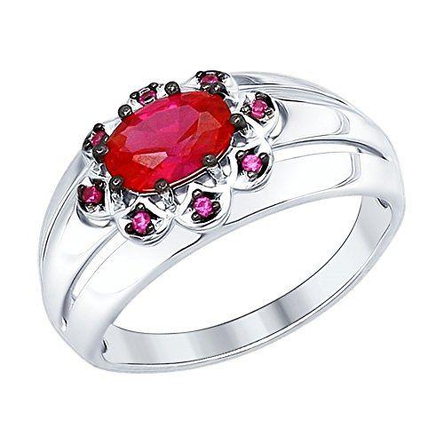 bague diamant solitaire fleuri