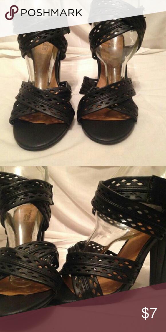 8e0932a04008 Sandals Black sandals Charlotte Russe Shoes Sandals