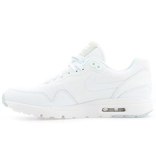 newest 1b479 802c3 nike air max 1 ultra essentials womens trainers 704993 sneakers shoes (us  8.5, white white pure platinum 103)