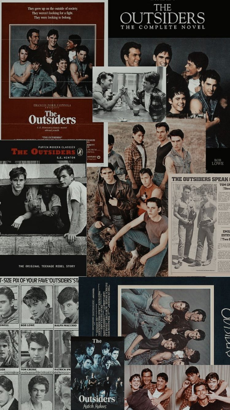 Pin By Roselyn Jaramillo On The Outsiders Movie Collage
