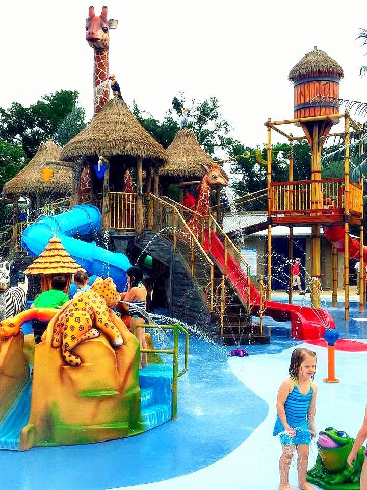 The new water park at Fort Worth Zoo is finally finished