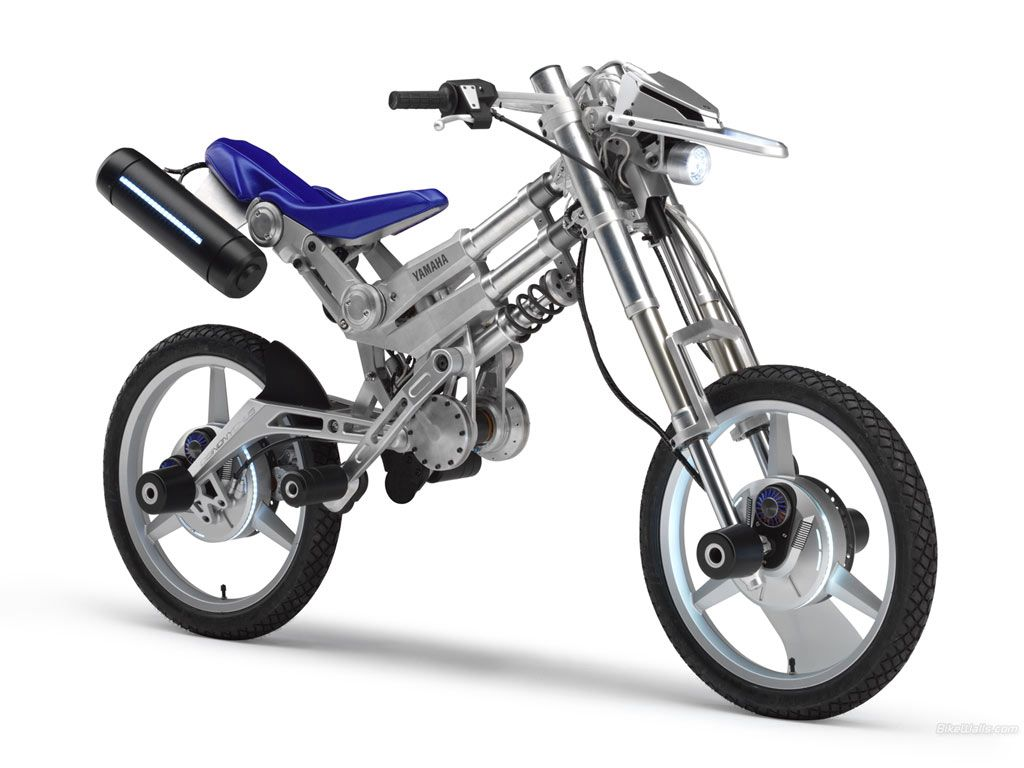 Yamaha Deinonychus With Images Electric Motorcycle Concept
