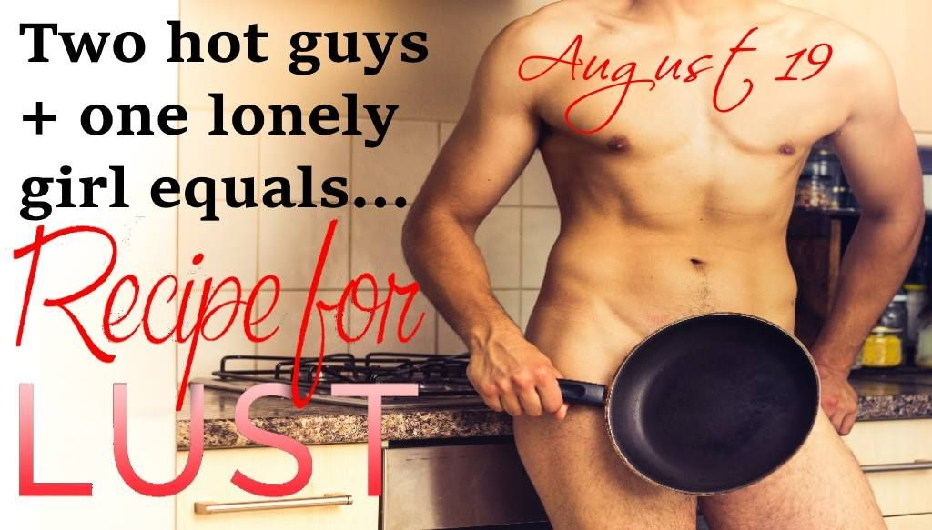 It's getting hot in the kitchen... #RecipeForLust #romance #books