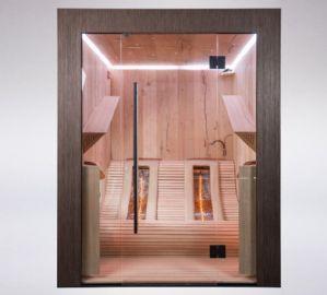 Awe Inspiring Chaleur Lounge Infrared Sauna Saunas Infrared Sauna Machost Co Dining Chair Design Ideas Machostcouk