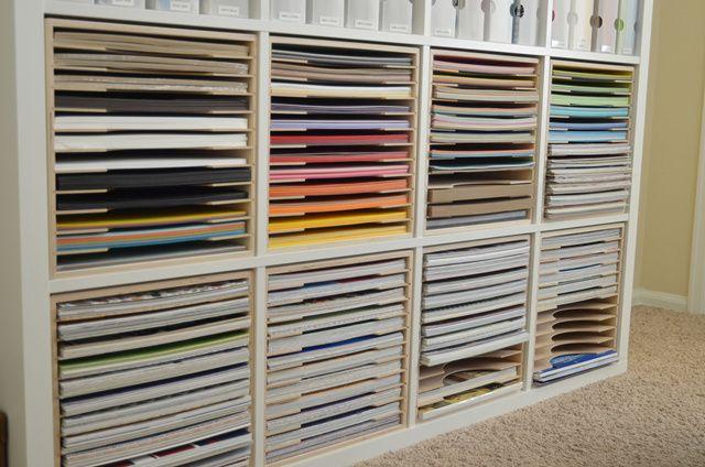 Paper Craft Storage In Ikea Shelving Craft Paper Storage Paper Storage Craft Storage