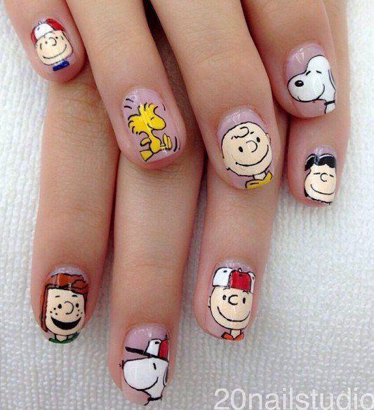 Peanuts Nails