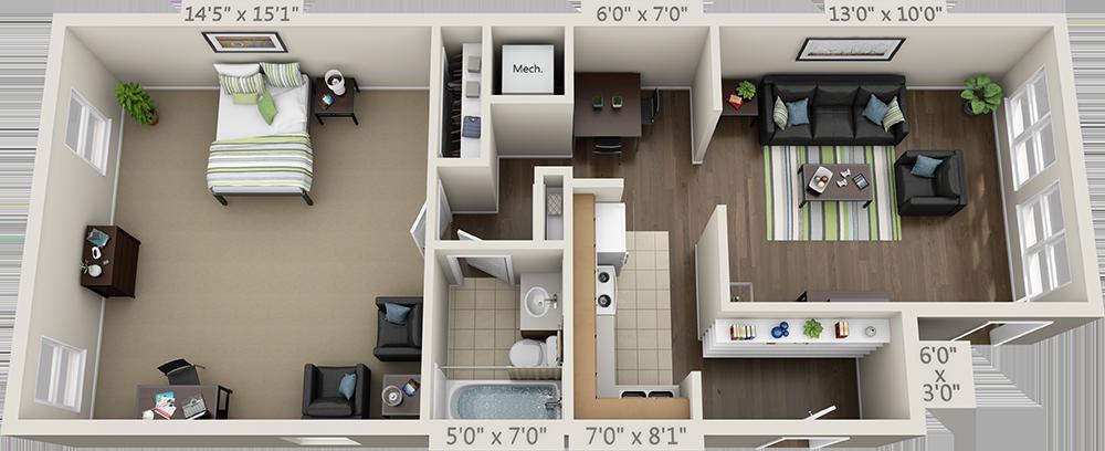 Floor Plans College Park Apartments Nhà