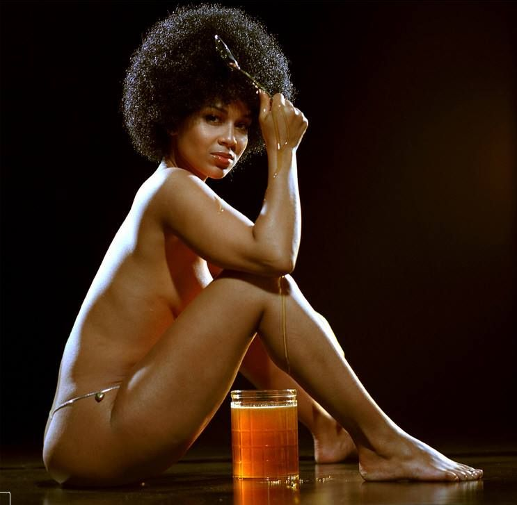 Lisa Raye's Ohio Players album cover theme shot...