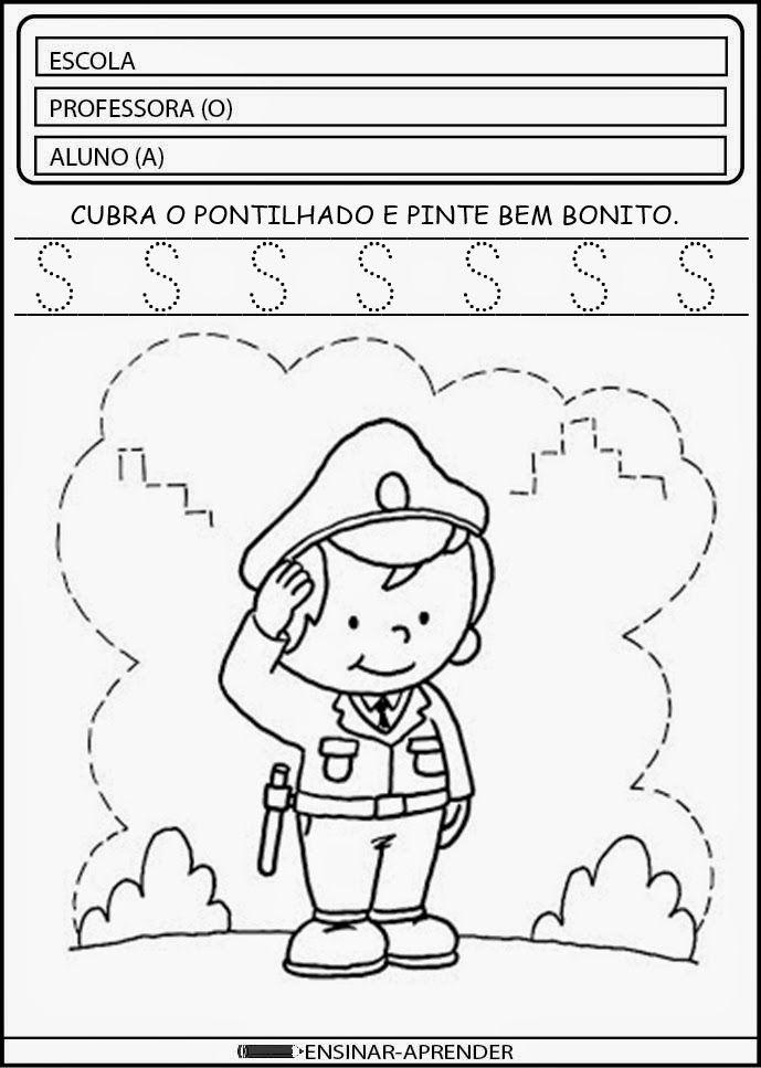 """""""Cantinho do Educador Infantil"""": ATIVIDADES ESCOLARES DIA DO SOLDADO"""