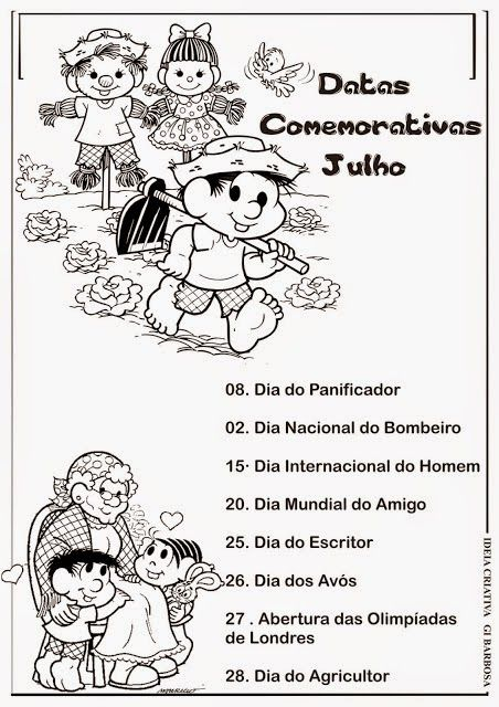 Calendario Com Datas Comemorativas Janeiro A Dezembro Turma Da Monica Calendario De Datas Comemorativas Datas Comemorativas Educacao Infantil Datas Comemorativas Escolares