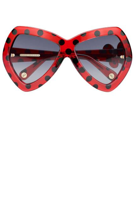f71ba9e2117 Fun Marc Jacobs dotted sunglasses make sunny days brighter Mirarte