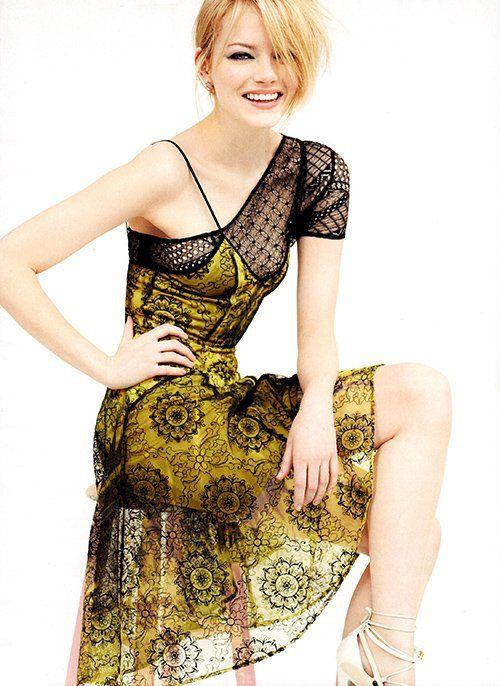 Emma Stone, Vogue US July 2012