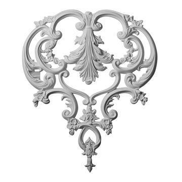 Restorers Architectural Kinsley Ornate Urethane Onlay Applique