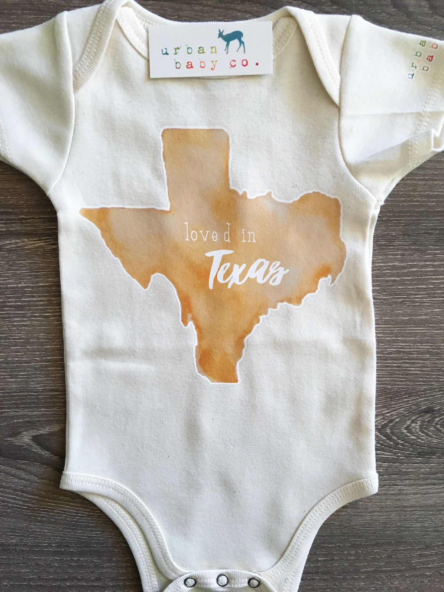 Loved in Texas Baby Boy Girl Uni Gender Neutral Infant
