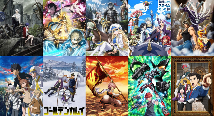 Image result for 2018 anime collage
