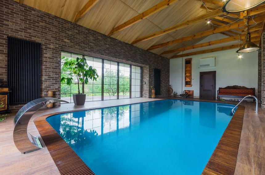 70 Pool House Designs To Thrill Your Outdoor Party Pool House Designs Pool Pool House Plans