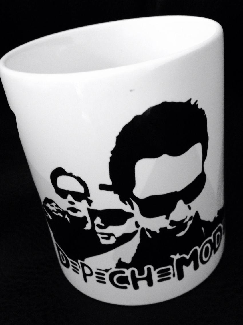 Taza Impresa De La Banda Depeche Mode Tazas Pinterest  ~ Tazas Para Infusiones El Corte Ingles