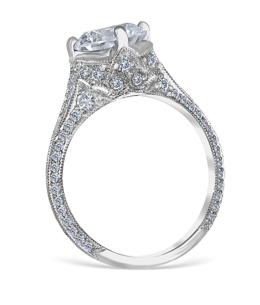 special ring in gold diamond diamondland engagement white rings
