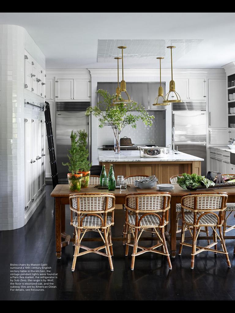 Marisa Tomeis Kitchen In Elle Decor In 2019 Interior